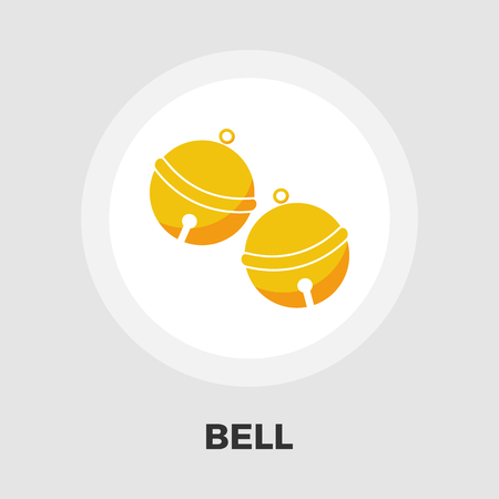 eps vector icon: Bell icon vector. Flat icon isolated on the white background. Editable EPS file. Vector illustration. Illustration