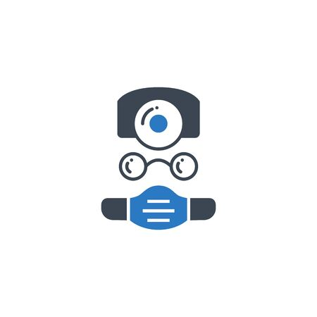 Doctor related vector glyph icon. Ilustração