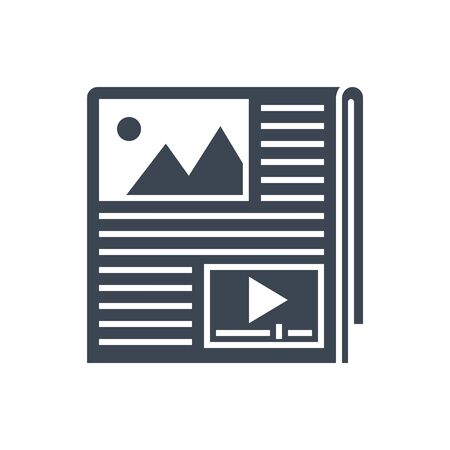 Content Vector Glyph Icon