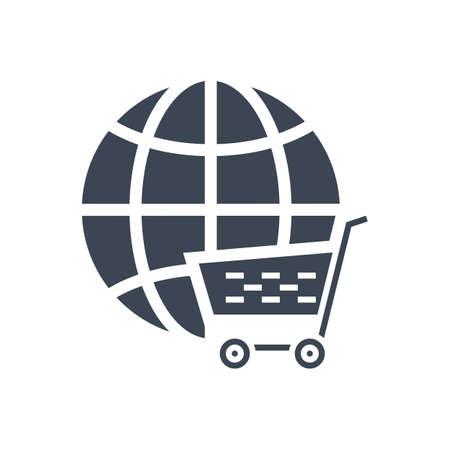E-commerce Solution Vector Glyph Icon