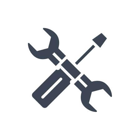 Services Vector Glyph Icon Vektorgrafik