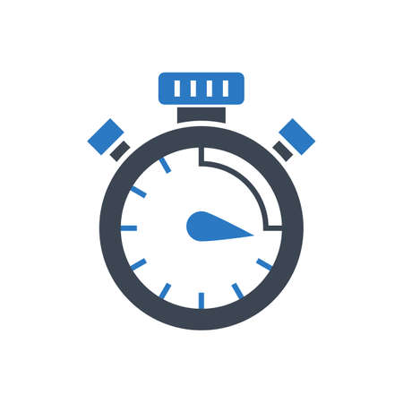 Campaign Timing Vector Glyph Icon