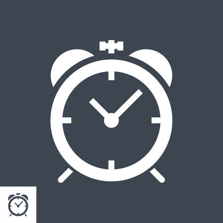 Campaign Timing Vector Glyph Icon Stock fotó - 155748599