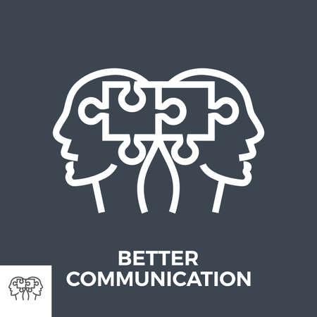Better communication icon
