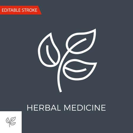 Herbal Medicine Vector Icon