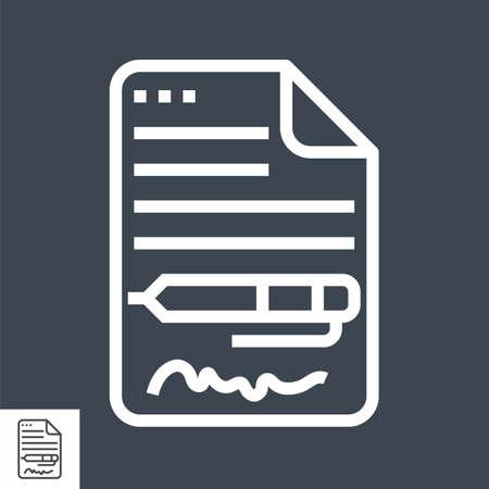 Contract Line Icon