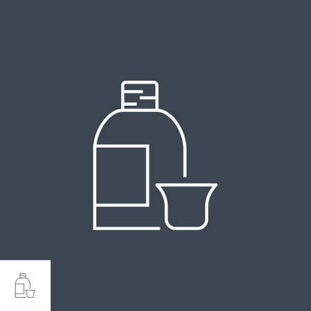 Syrup Vector Icon