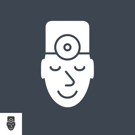 Doctor Vector Icon Illustration