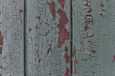Texture old. Real Old Wood Texture Vintage Background. Dark background. Antique wooden background. Wood wall dark green? red and brown color old texture. Material for designers. Peeling burgundy paint Stock fotó