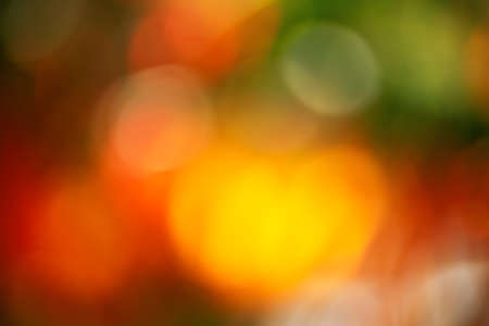 Autumn natural bokeh. Defocus blurred autumn natural background consists of colorful foliage. Фото со стока