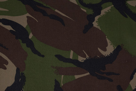 cryptic: Military camouflage fabric texture background Stock Photo