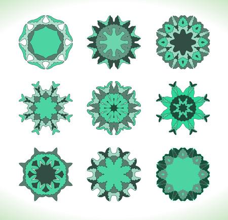 mandala: Turquoise mandala