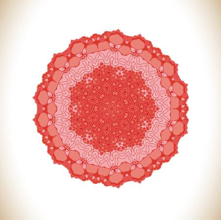 vermilion: Pink ornate lacy vintage background