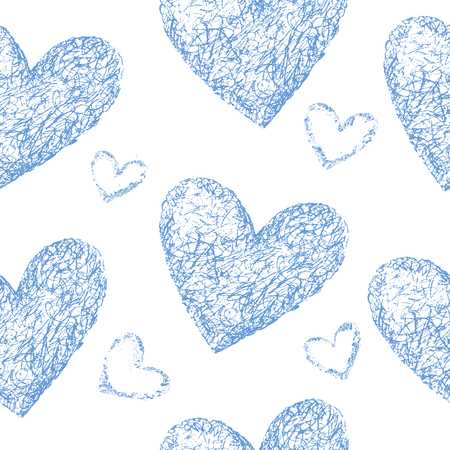 corazones azules: Corazones azules sin patr�n.
