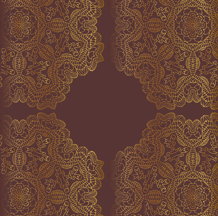 shiny gold: Golden vector lace background. Shiny gold texture.