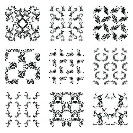 Universally different seamless patterns.