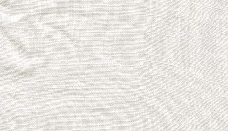 White linen canvas. White fabric texture. White canvas texture. Natural white linen background