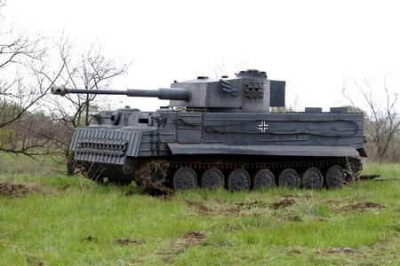 hitler: German tank  Editorial