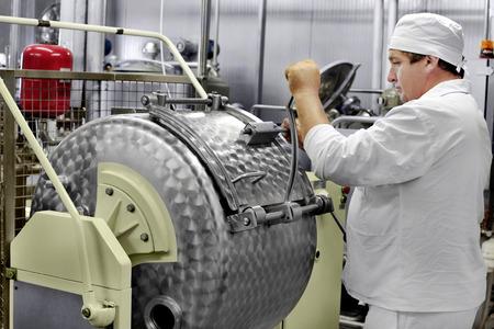 Modern Dairy food-processing industry