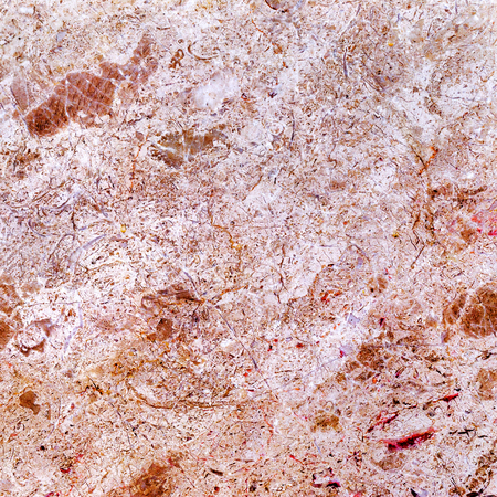 Magnificent natural pink marble with a beautiful pattern and cracks