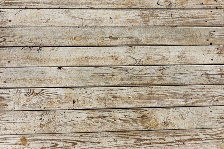 Old wooden background of white shabby painted wooden planks. Background of old painted texture wood as a basis for vintage creative design