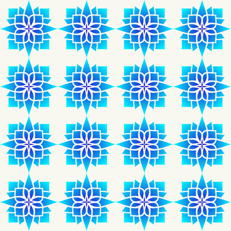 background with blue geometrical pattern Vector