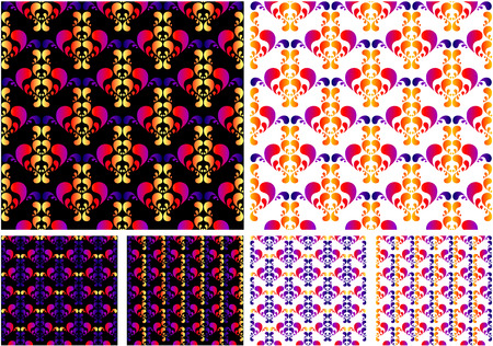 gradation: different color pattern with gradation color   Illustration