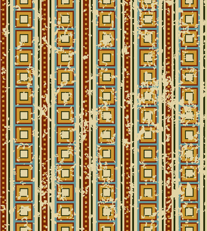 spoted: retro geometrical pattern