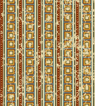 sooty: retro geometrical pattern