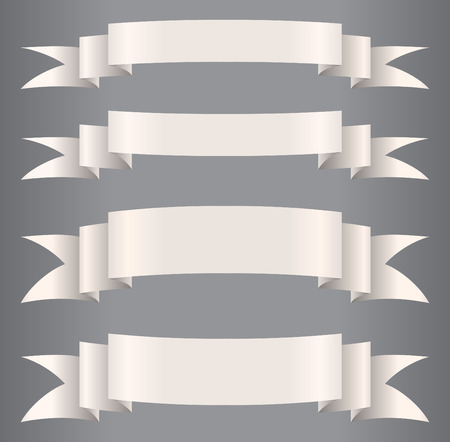 paper`s ribbons   Illustration