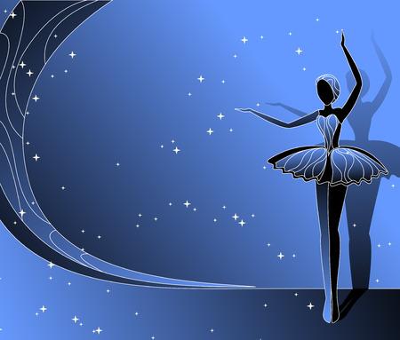 dancing ballerine