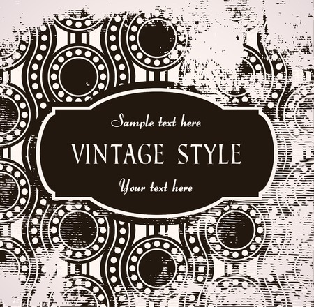 crannied: vintage label