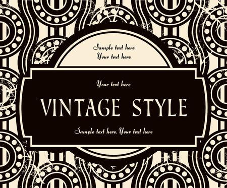 vintage label Stock Vector - 6760086