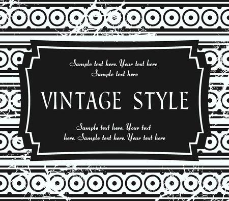 crannied: vintage label Illustration