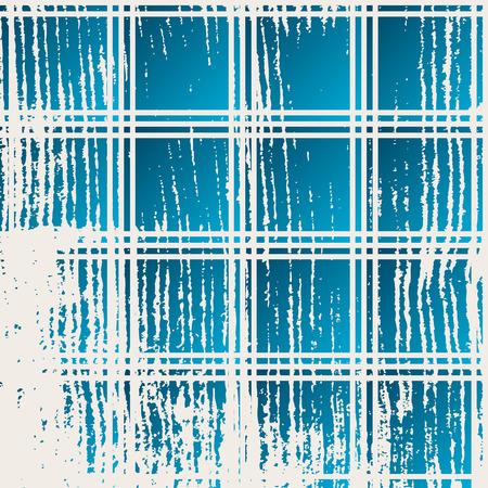 crannied: blue background