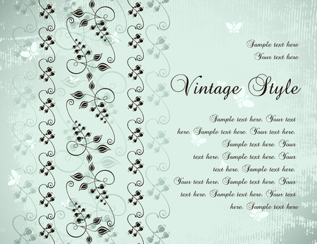 vintage background Stock Vector - 6871722