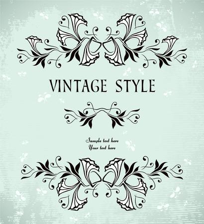vintage frame   Stock Vector - 7014901