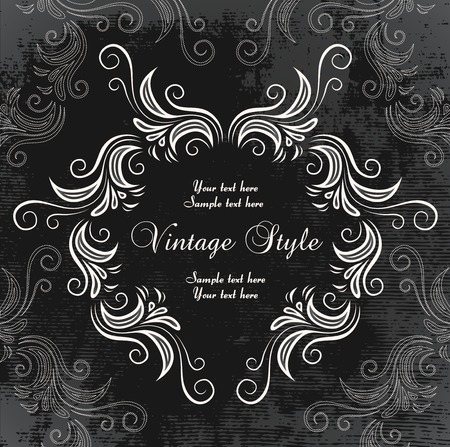 beautiful vintage frame Stock Vector - 7014916