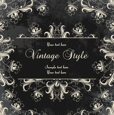 vintage floral background Stock Vector - 7077946