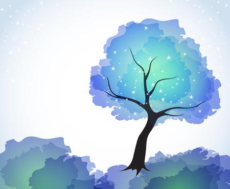 abstract tree Stock Vector - 7879674