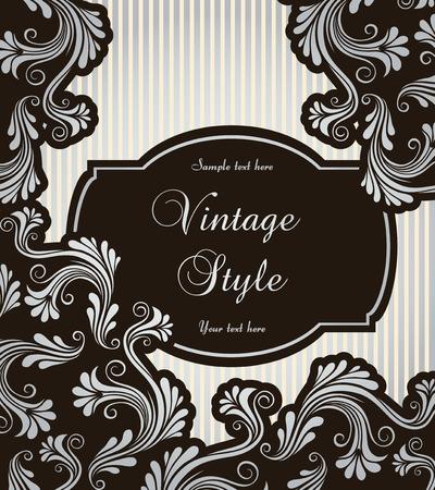 composition book: vintage frame