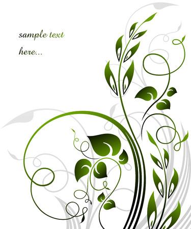 espigas: fondo floral