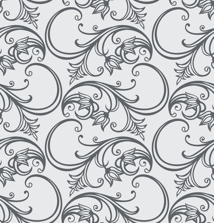 seamless floral pattern   Illustration
