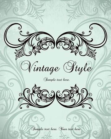vintage background   Stock Vector - 8245832
