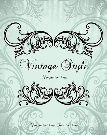 vintage background Stock Vector - 8245832