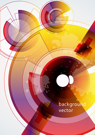 abstract technology background   Stock Vector - 8362324