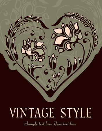 vintage background   Stock Vector - 9054957