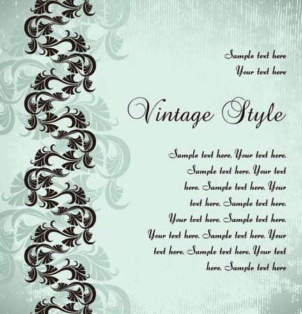 vintage background Stock Vector - 9054961
