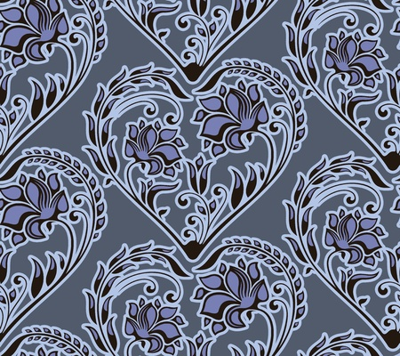 seamless floral pattern  Stock Vector - 10201130
