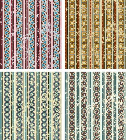 sooty: set of geometrical patterns   Illustration